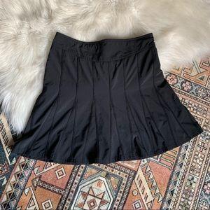 Athleta Black Pleated Workout Skirt - 4
